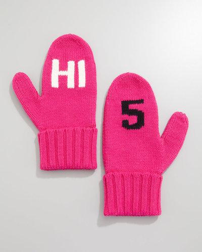 "kate spade new york ""HI 5"" mittens"