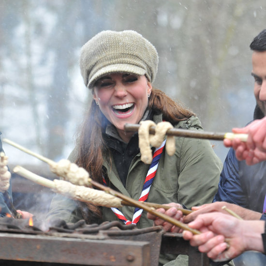 Kate Middleton Camping With Cub Scouts