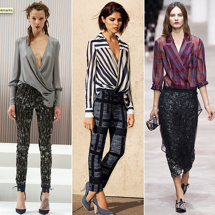 That's a wrap! Don't miss out on this Spring's hottest blouse style.