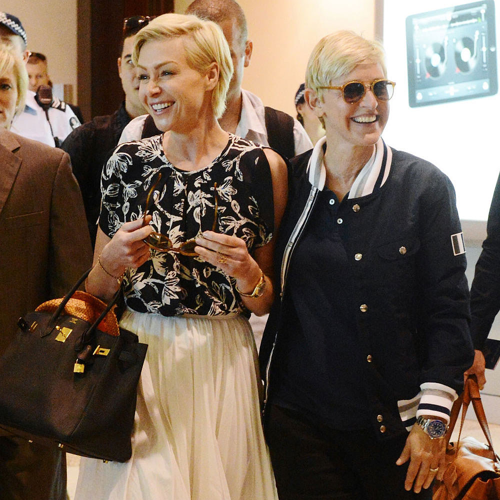 Portia De Rossi Weight: Ellen DeGeneres And Portia De Rossi In Australia (Photos