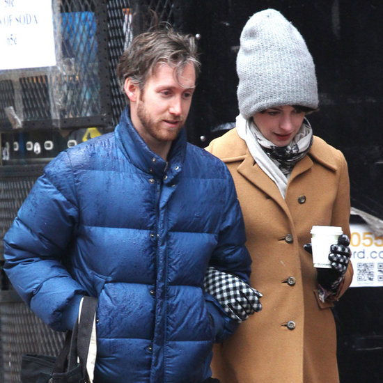 Anne Hathaway and Adam Shulman in NYC | Pictures