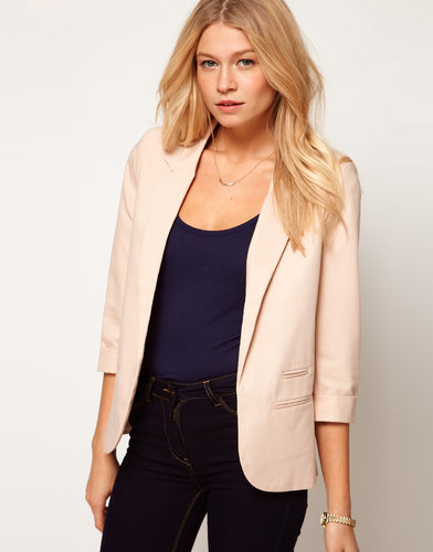 ASOS Blazer With Roll Sleeve