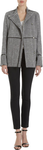 Proenza Schouler Double-Breasted Tweed Jacket
