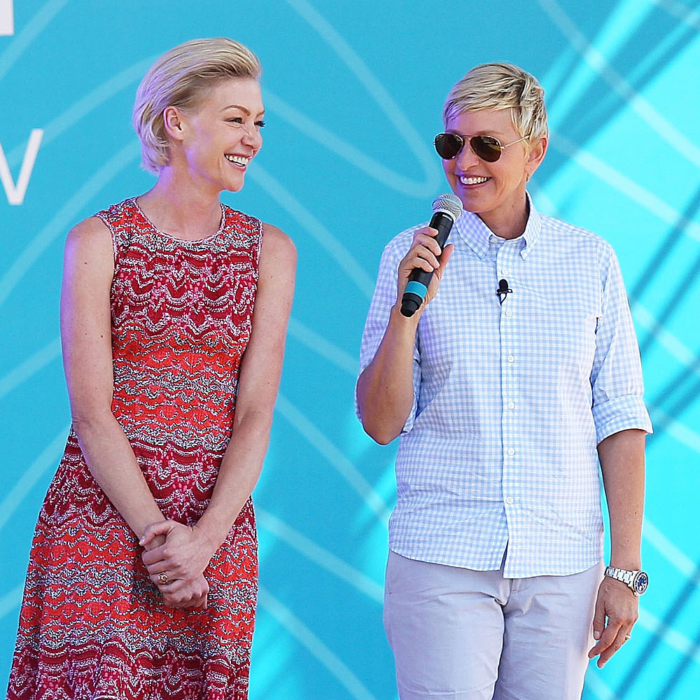 Portia De Rossi Weight: Ellen DeGeneres And Portia De Rossi In Melbourne