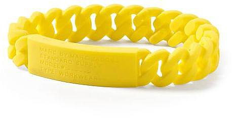 Marc by Marc Jacobs Rubber Standard Supply ID Bracelet