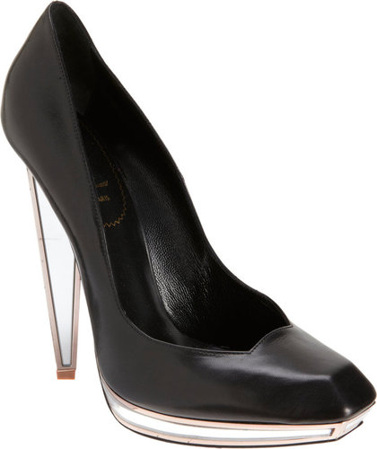 Yves Saint Laurent Vanda Mirrored Pump