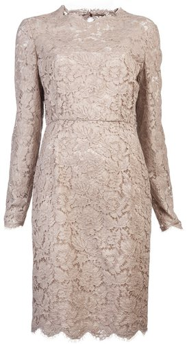 Valentino Tonal lace dress