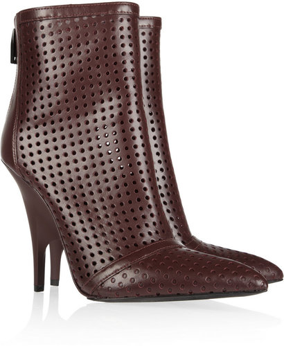Alexander Wang Shelly perforated leather ankle boots