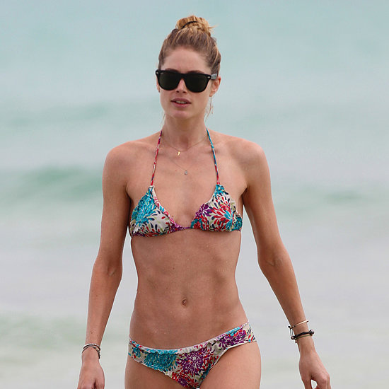 Doutzen Kroes Bikini Pictures With Family in Miami