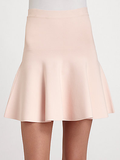 BCBGMAXAZRIA Flirty Flare Skirt