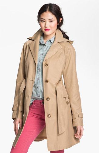 Gallery Raglan Sleeve Trench Coat