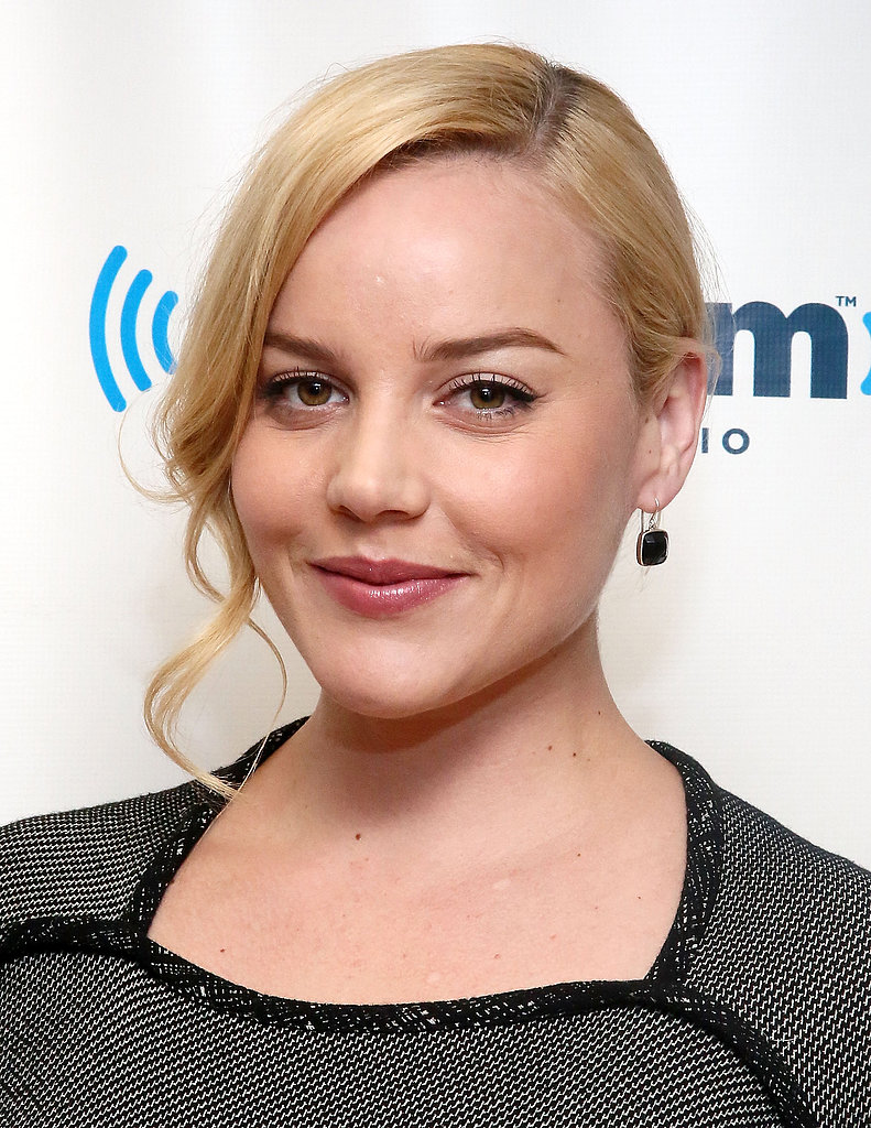 Accent a low bun with a curled tendril around your face like Abbie Cornish. It will make the style feel special, and it just takes a couple minutes to plug in the curling iron and curl that one hanging section.