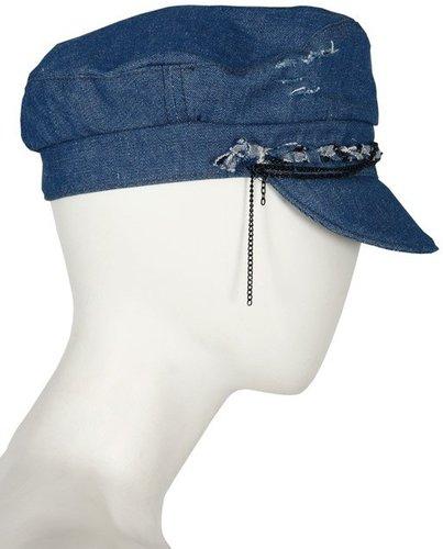 Fisherman Jean's Hat in Denim - by Selima