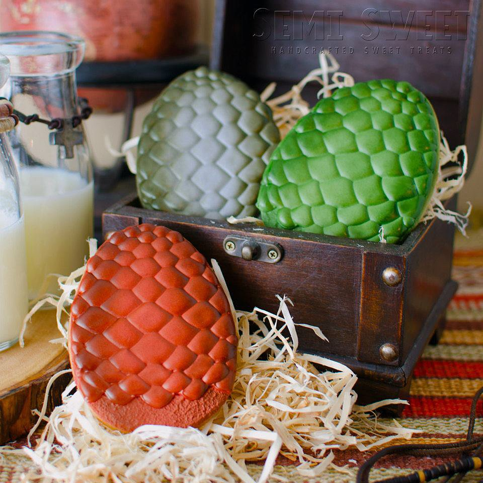 Dragon Egg Cookies