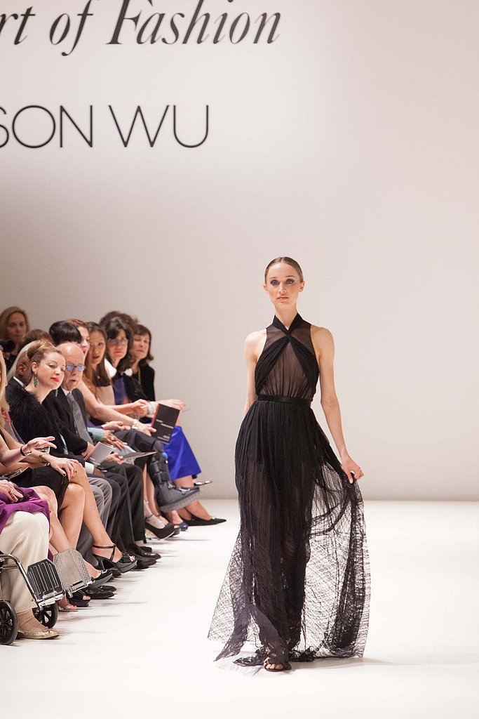 Another flawless evening gown, courtesy of Jason Wu.
