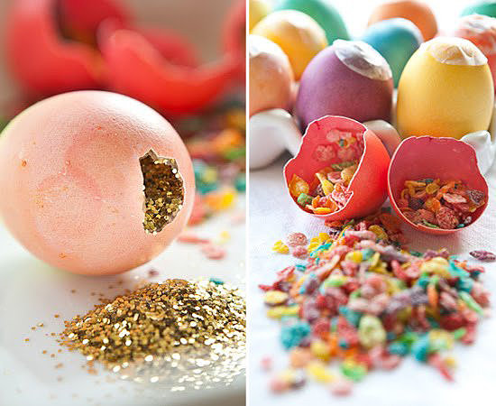DIY Glitter and Confetti Smash Eggs
