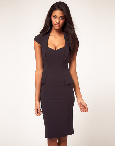 ASOS Sexy Pencil Dress With V Neck