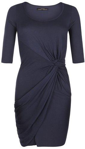Twain Jersey Dress