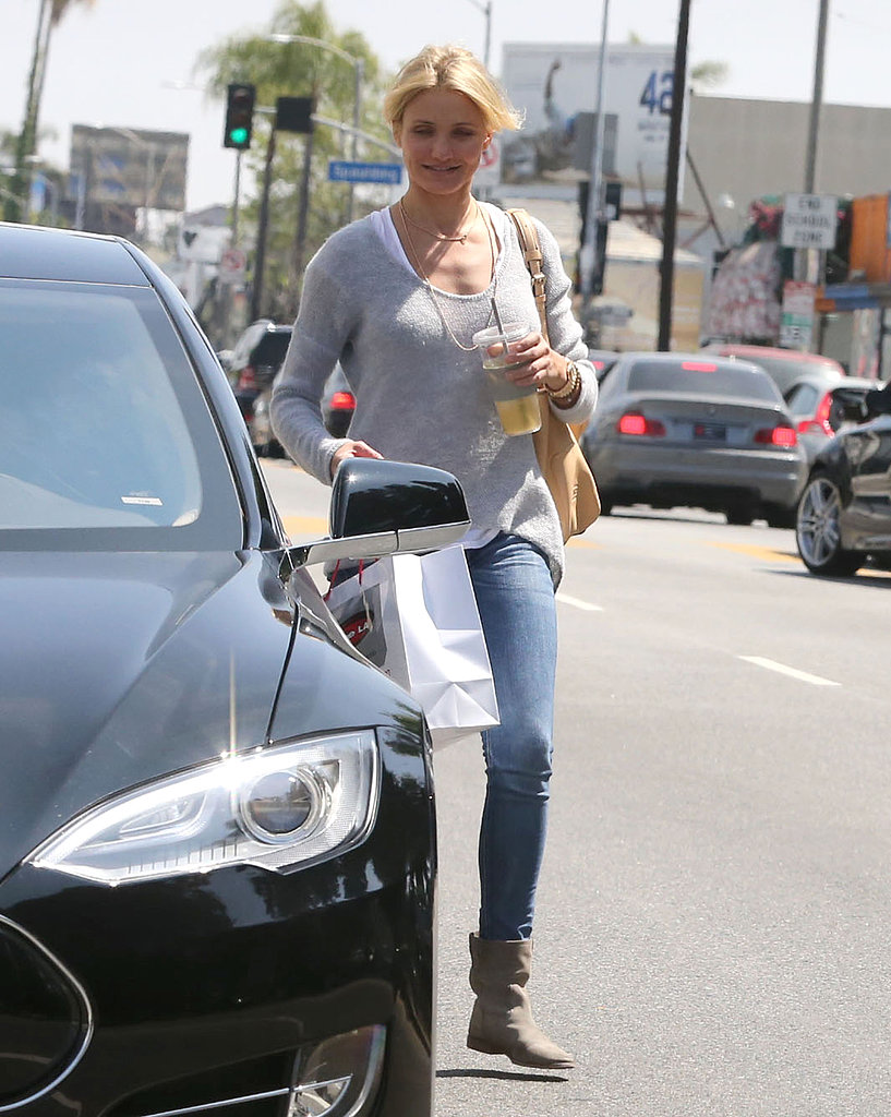 Cameron Diaz Goes Shopping Ahead of a Star-Studded Birthday Bash