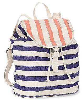 Arizona Washed Striped Backpack