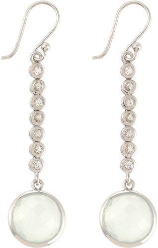 Elizabeth Showers Chalcedony Drop Earrings