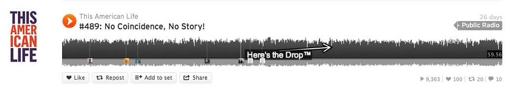 SoundCloud Dropometer