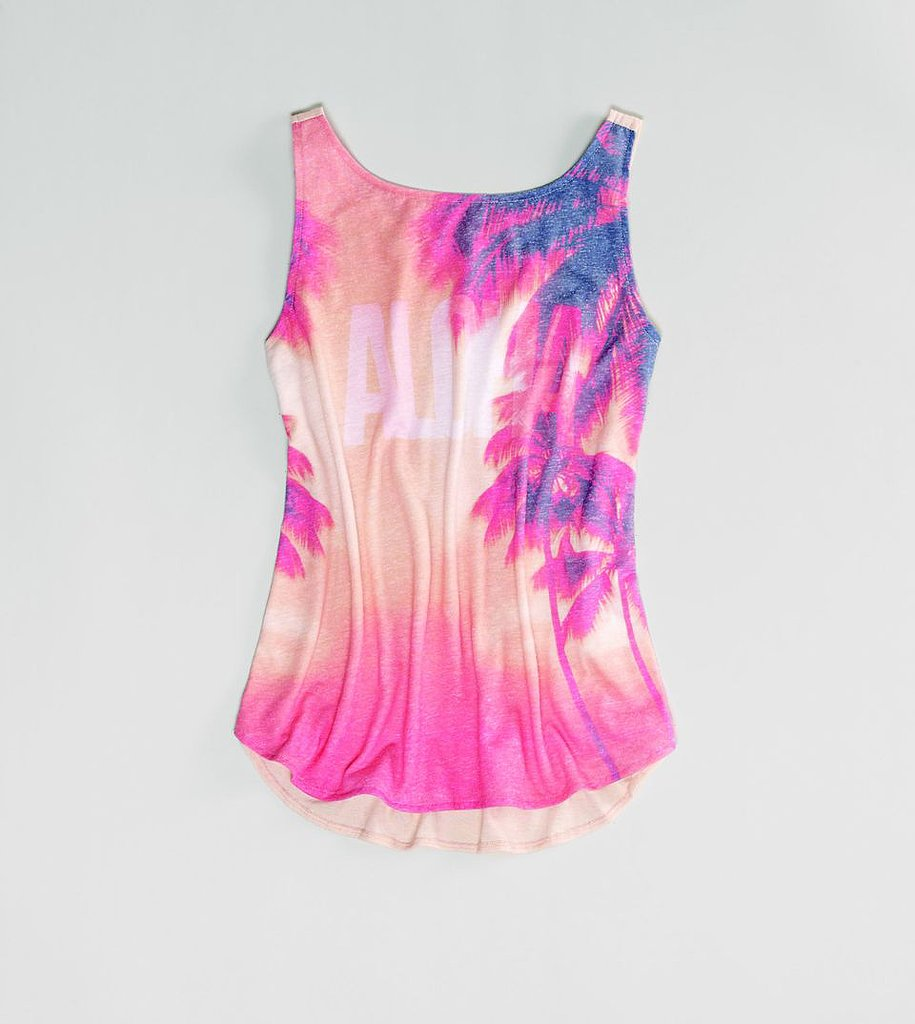 We love the mix of bright and pastel colors on American Eagle's Photo Graphic Tank ($25).
