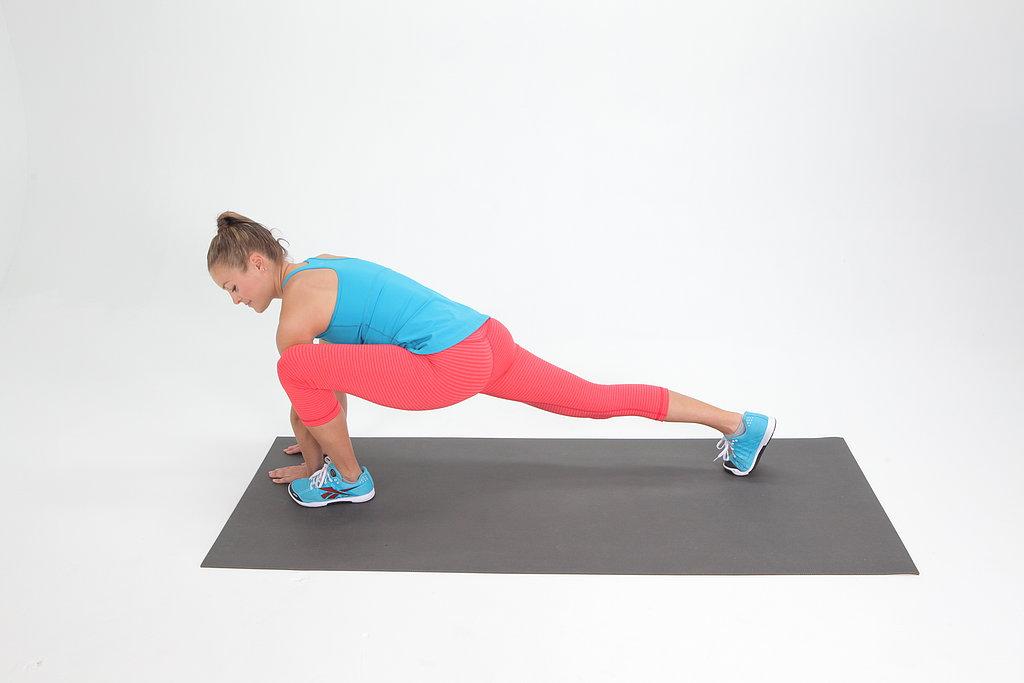 Runner's Lunge Stretch