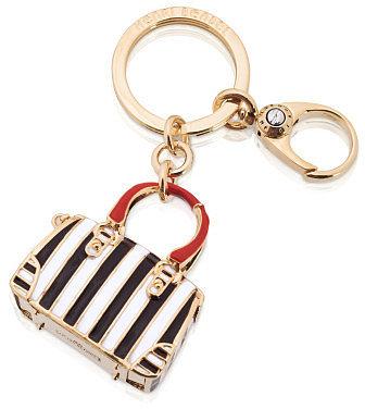 Centennial Stripe Bag Key Fob