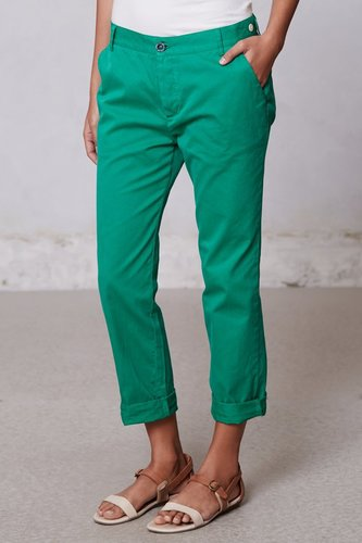 Slouchy Chino Crops
