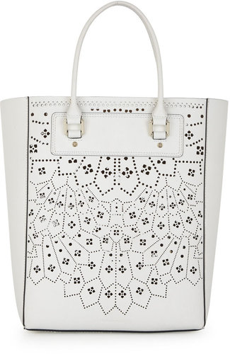 Sienna Lasercut  Leather Tote