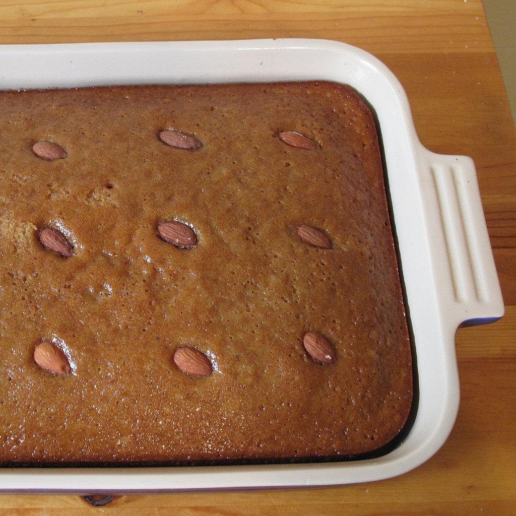 Spiced Honey Apple Cake