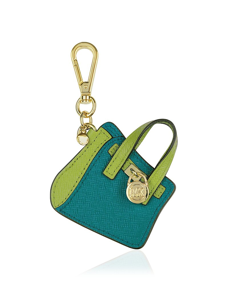 We love the Michael Kors Hamilton tote, so it's a no-brainer why we love this miniature key chain version ($38), too.