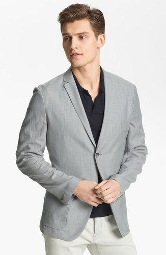 Theory 'Jaiden Follett' Wool & Linen Blazer