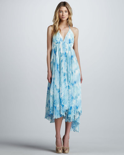 Alice + Olivia Adalyn Printed Maxi Dress