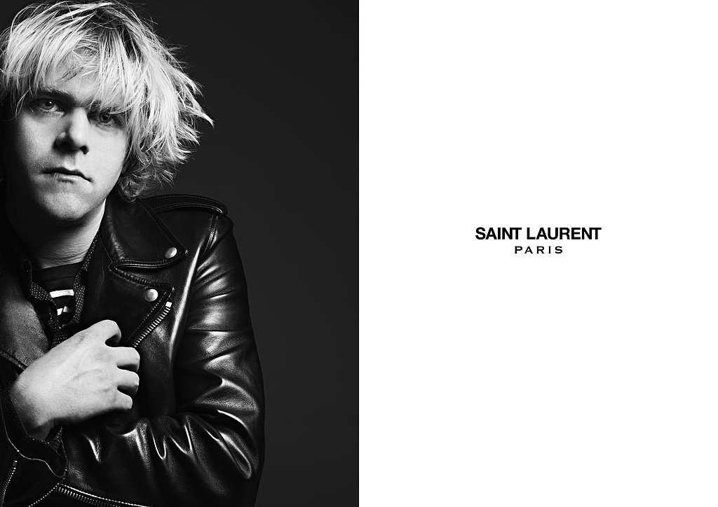 Ariel Pink photographed by Hedi Slimane. Photo courtesy of Saint Laurent.