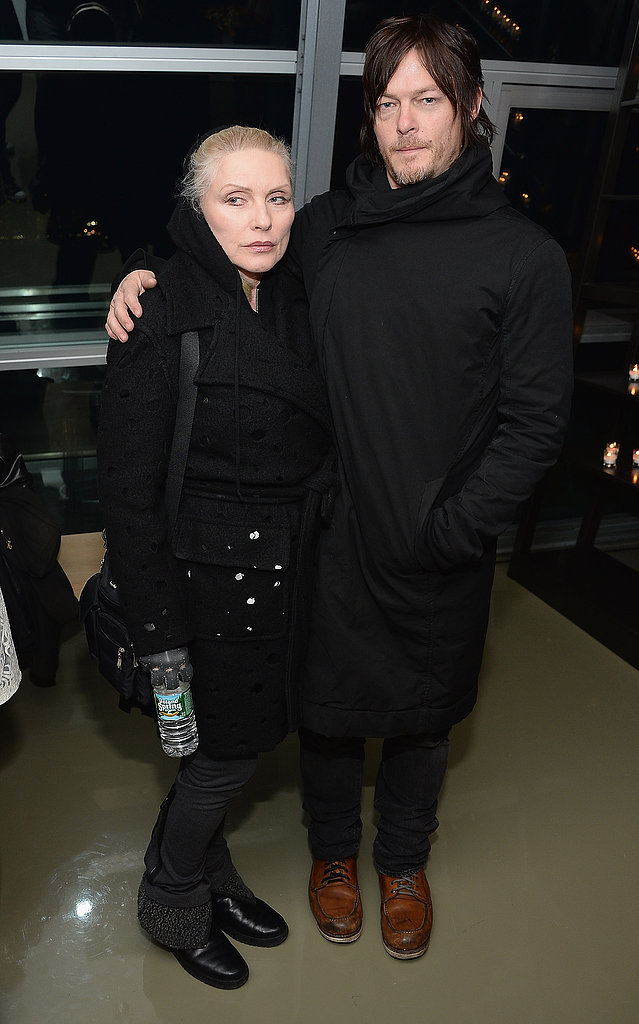Norman Reedus attended the afterparty with Debbie Harry.