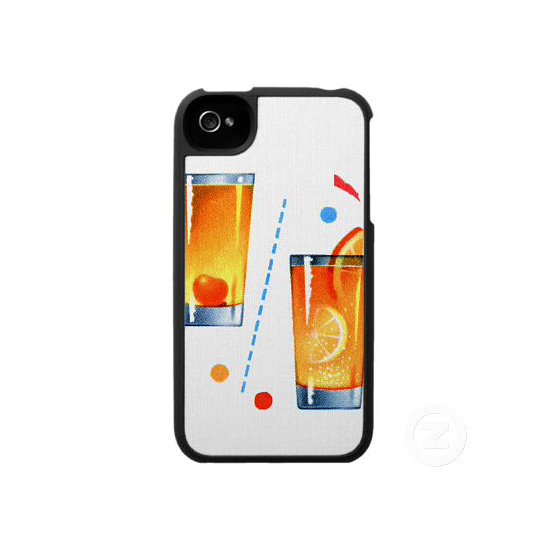 What would Mad Men be without cocktails? This fun 1960s cocktail iPhone 4 or 4S cover ($48) is all about the show's must-have drinks.