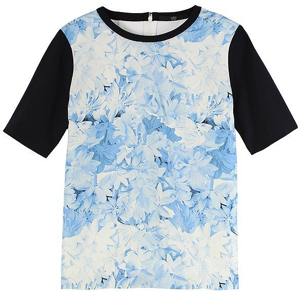 Tibi's Daisies easy tee ($335) makes it, well, easy to finish your causal looks with something a little more attention-grabbing.