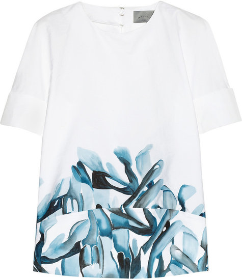 Maiyet Hand-painted cotton shirt