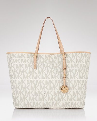 MICHAEL Michael Kors Jet Set Logo Effect Travel Tote