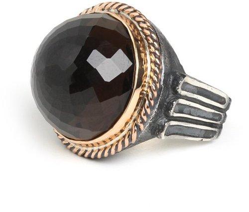 Quartz Signet Ring