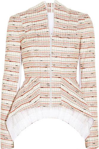 Willow Woven metallic-flecked jacket
