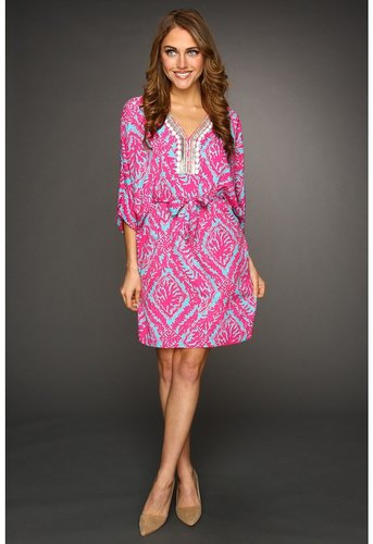 Lilly Pulitzer - Wilda Tunic Dress (Snorkel Blue Reef Madness) - Apparel
