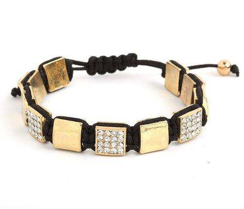 Gold Brooks Bracelet