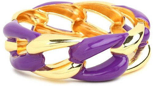 Purple Link Cuff