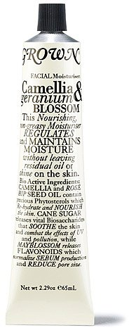 Grown - Camellia and Geranium Blossom Facial Moisturizer - 65 ml