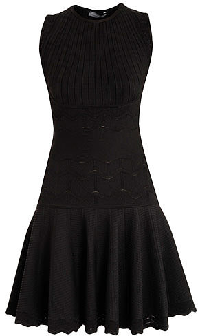 Alexander McQueen Klimt jacquard knit dress