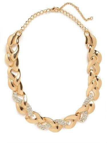 Gold Ice Braid Collar