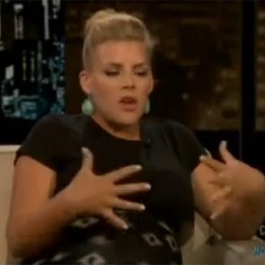 Busy Philipps on Chelsea Lately April 2013